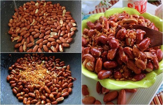 Đậu phộng xóc tỏi ớt – món ăn đơn giản mà ngon dễ nghiện