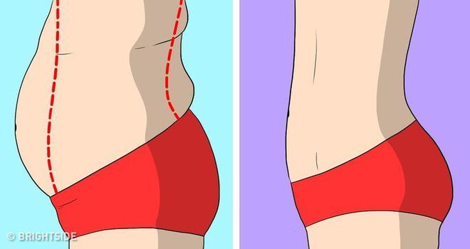 Người béo bụng lâu năm, siêu lười cũng có thể giảm nếu áp dụng theo cách sau!