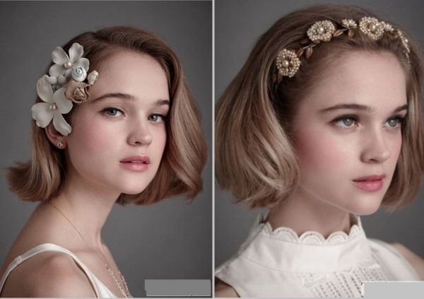 """5 Kiểu """"biến hóa"""" cho mái tóc ngắn của bạn xinh lung linh đi dự tiệc"""