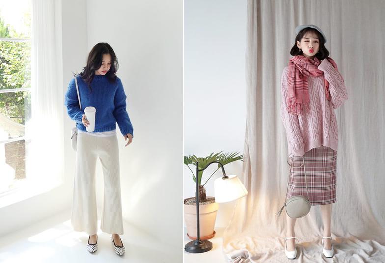 Áo len dáng rộng- Món đồ mặc đẹp vạn năng cho nàng công sở