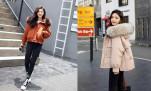 Mix match áo phao nữ Hàn Quốc thật cá tính cho ngày se lạnh