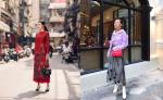Giới trẻ Việt đồng loạt lăng xê những trang phục màu sắc xuống phố những ngày Tết