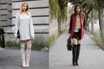 Bí quyết phối đồ sành điệu với boots cao cổ vô cùng linh hoạt và thời trang