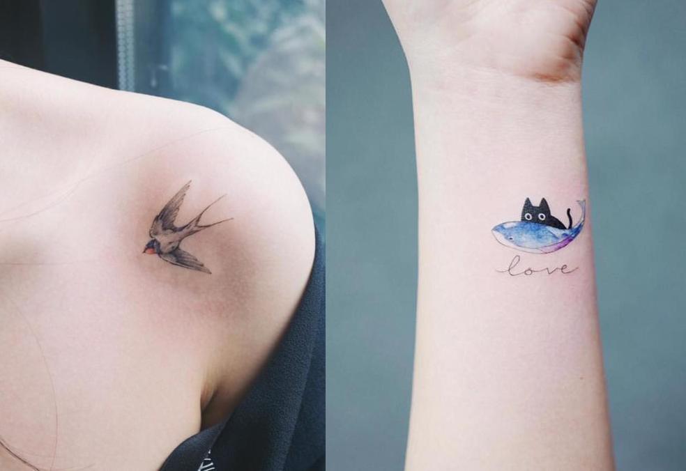 Những ý tưởng hình xăm tuyệt vời cho các fan yêu động vật