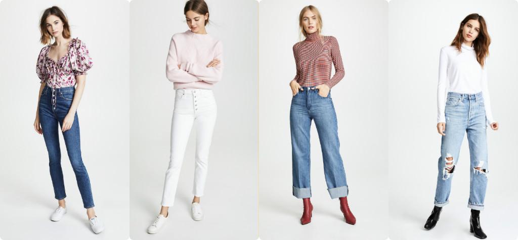 """Xu hướng 4 kiểu quần Jean đang """"phủ sóng"""" giới thời trang"""