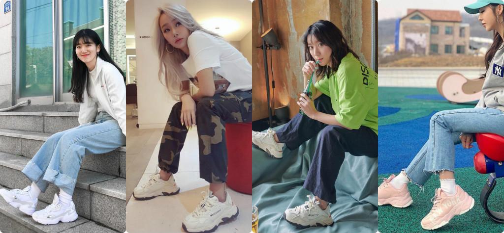 """4 đôi sneaker """"thô kệch"""" được giớ trẻ Hàn săn đón nhiệt tình"""