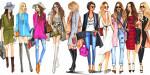 Định hình phong cách thời trang thông qua màu sắc