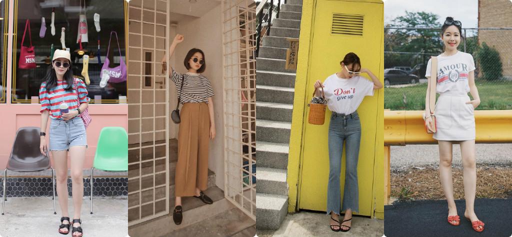 4 Công thức mix áo phông cho nàng thêm trẻ trung, sành điệu