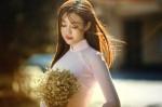 Ngắm con gái Việt mặc áo dài gây thương nhớ