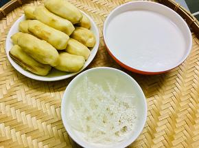 Cách nấu chè chuối cốt dừa mát rượi mùa hè
