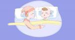 Bé ngủ với mẹ, bà hay giúp việc, khi lớn lên sẽ có khác biệt rõ ràng