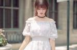 10 kiểu áo Blouse chất đũi cho những cô nàng mê màu trắng