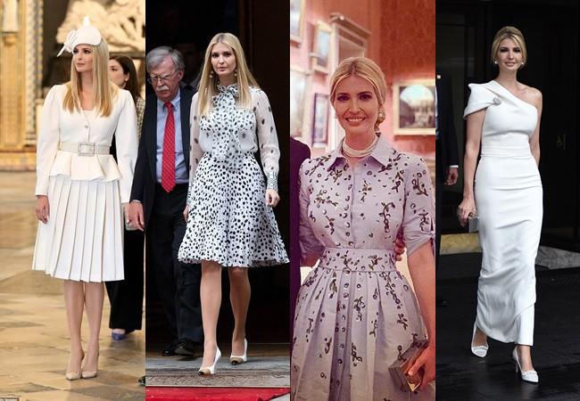Ngắm những bộ trang phục đẹp nhất của trưởng nữ nhà Tổng thống Mỹ tại Anh