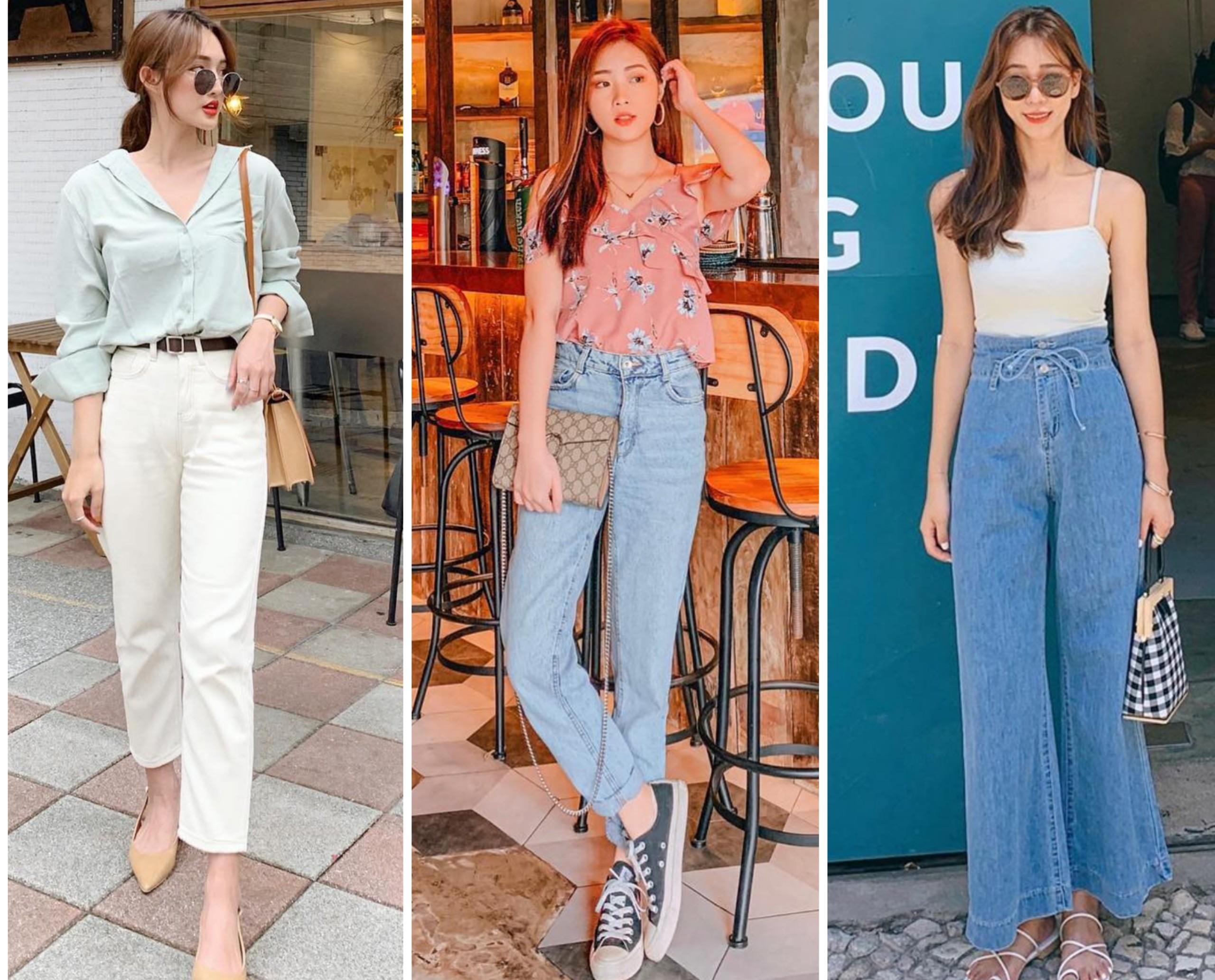 4 kiểu quần Jeans cho thời tiết nắng nóng bạn không thể bỏ qua