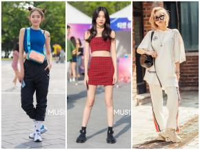 Học hỏi phong cách ăn mặc đẹp không đùa được của giới trẻ Hàn tuần qua