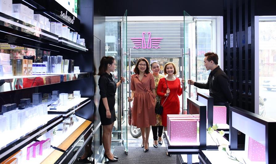 Mỹ phẩm Hoa Anh Đào: Chuỗi cửa hàng mỹ phẩm chính hãng bạn không thể bỏ qua
