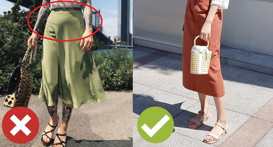 Mùa hè chọn đồ áo kiểu gì để giấu nhẹm vòng 2 ngấn mỡ