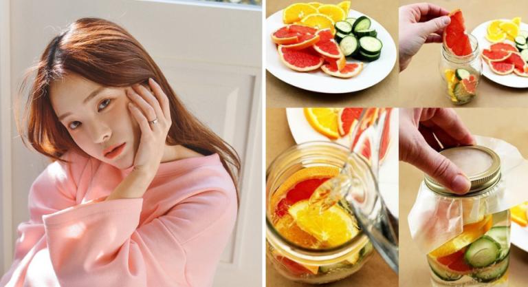 6 cách làm nước detox đẹp da ngay tại nhà