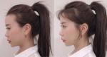 """Tóc đuôi ngựa: Bí kíp để không bị lộ """"đầu hói"""",""""mặt to""""."""