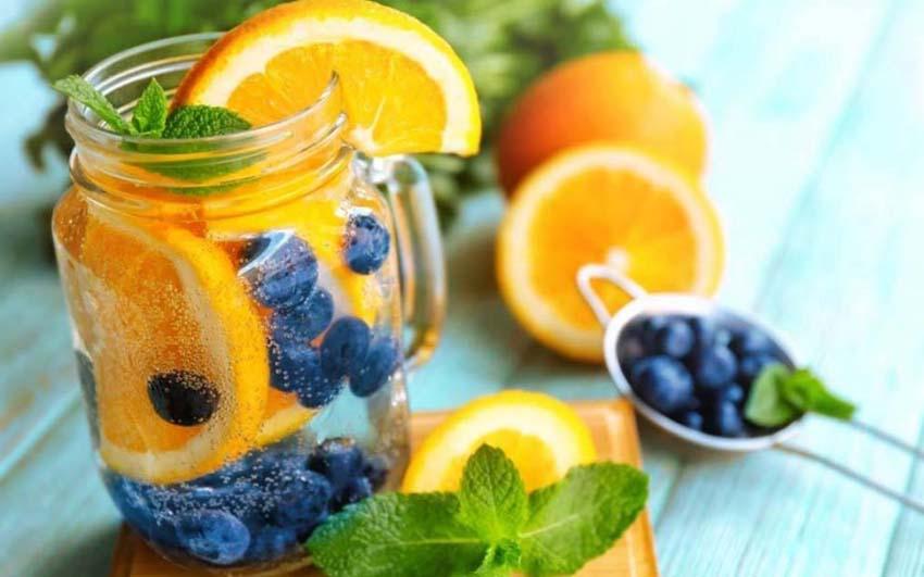 Thực đơn 7 ngày giảm mỡ cùng với nước detox trái cây