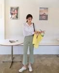 4 tips kết hợp giày bệt và quần dài ăn gian chiều cao
