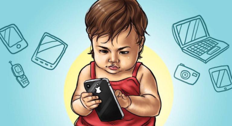 Bố mẹ nghiện điện thoại con chậm phát triển ngôn ngữ, nhận thức kém, kết quả học tập sa sút