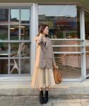 4 kiểu mix chân váy midi siêu xinh nàng không nên bỏ qua