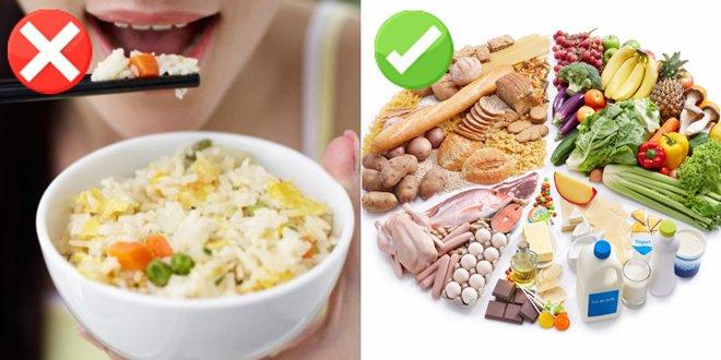 Những sai lầm phổ biến trong ăn uống sau sinh