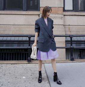 3 công thức váy + boots tôn dáng cực đỉnh