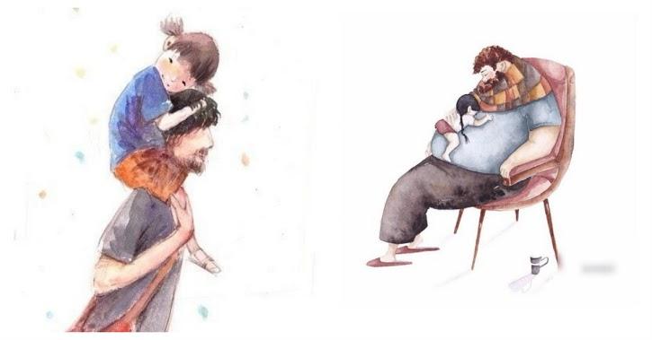 """Bố Là Phần Không Thể Thay Thế Trong Việc Nuôi Dạy Con, Đừng Nói """"Mẹ Dạy Con, Cha Kiếm Tiền Là Đủ"""""""