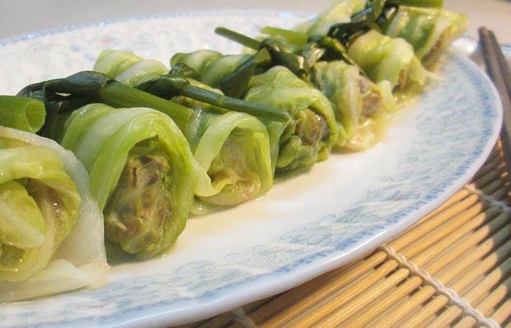 Bắp cải cuộn thịt dễ ăn ngọt vị, thanh nhiệt giữa ngày hè nóng bức