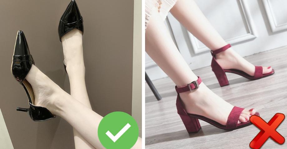 3 kiểu giày không phù hợp với người có chiều cao khiêm tốn, càng diện càng thấp
