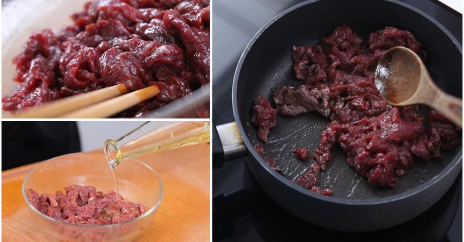 Cách để xào thịt bò mềm, ngọt, giữ được giá trị dinh dưỡng cao