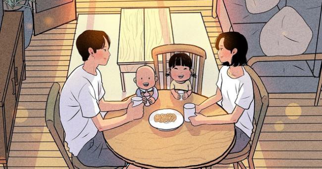 Vợ chồng có hạnh phúc hay không, chỉ cần nhìn vào bữa cơm là đủ biết