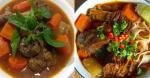 3 cách nấu bò kho ngon chuẩn 10 điểm, thịt mềm thơm, đậm đà lại đẹp mắt