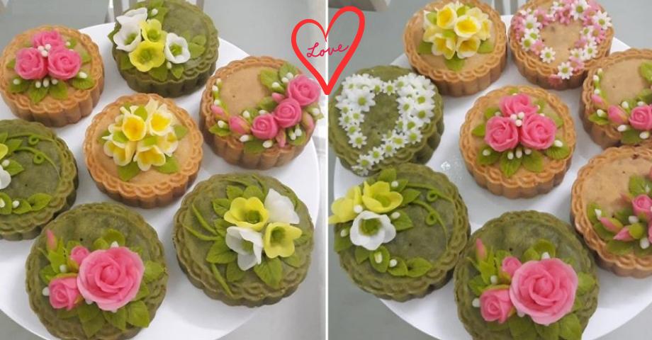 Cách làm bánh trung thu hoa nổi tại nhà vừa đẹp vừa dễ làm