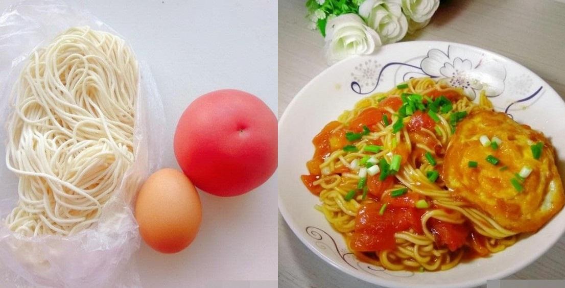 Mì sốt cà chua, đơn giản, dễ làm, ăn rất ngon