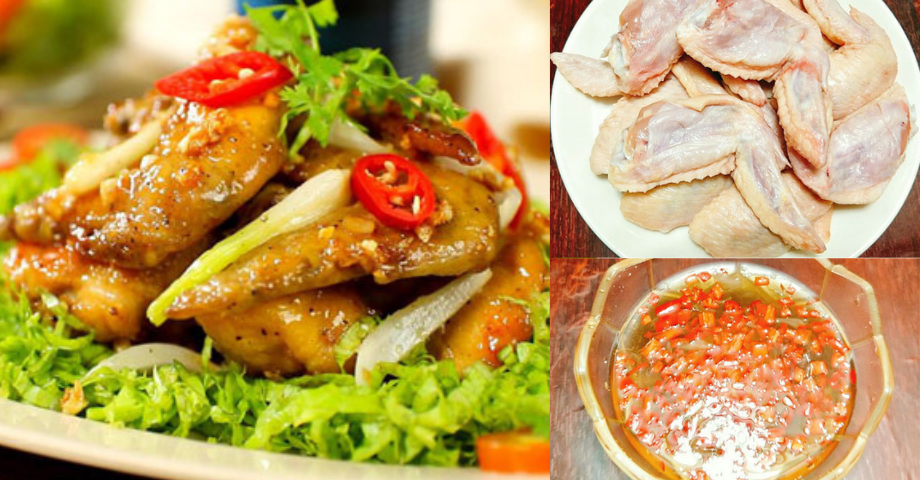 Ứa nước miếng với món cánh gà chiên mắm đậm đà, hao cơm vô cùng nhé!