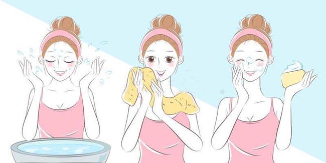 Bật mí 4 bước chăm sóc da cơ bản sáng νà tối để da sáng khoẻ, mướt mịn