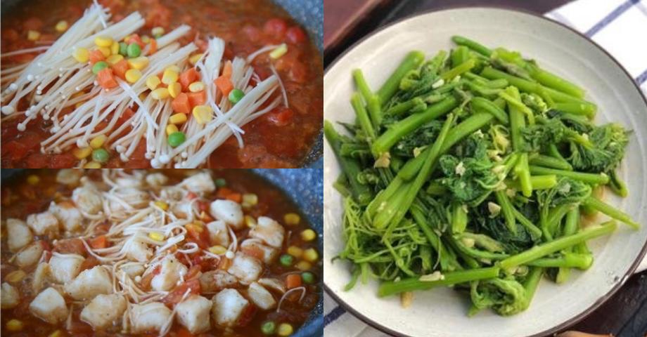 Thực đơn 3 món nhẹ bụng nhiều rau xanh, ăn bao nhiêu cũng không mập mà lại đơn giản dễ nấu