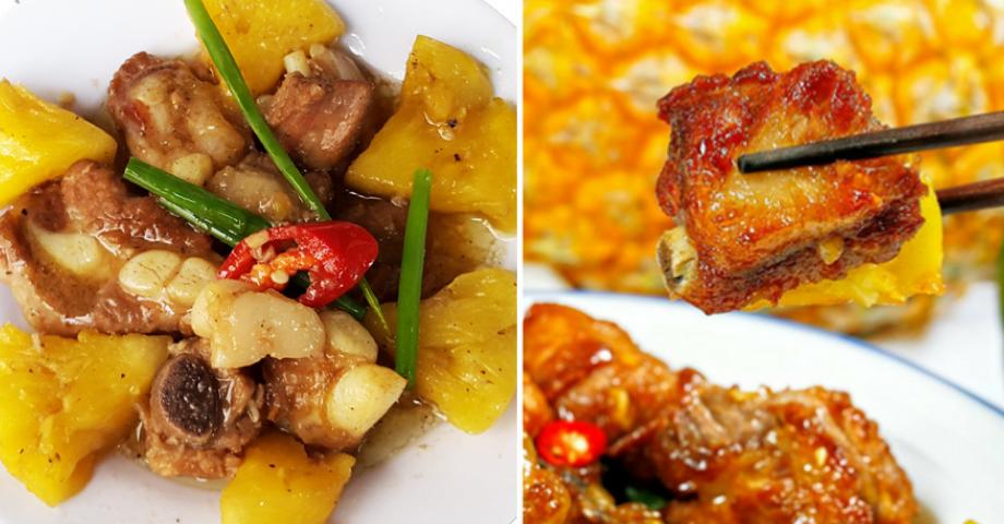 Đổi vị với món sườn kho dứa thơm ngon, chua ngọt và đơn giản tại nhà