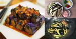 Thực đơn với món cà tím chưng thịt, cơm nấu bao nhiêu cũng không đủ