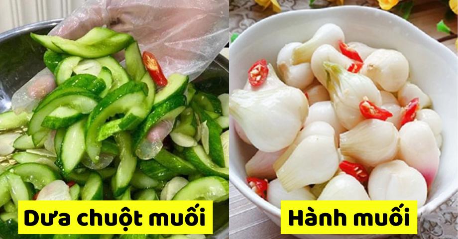 Cách làm món dưa góp giòn ngon chống ngấy cho ngày Tết
