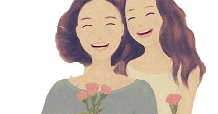 Niềm vui của tôi là nụ cười của mẹ