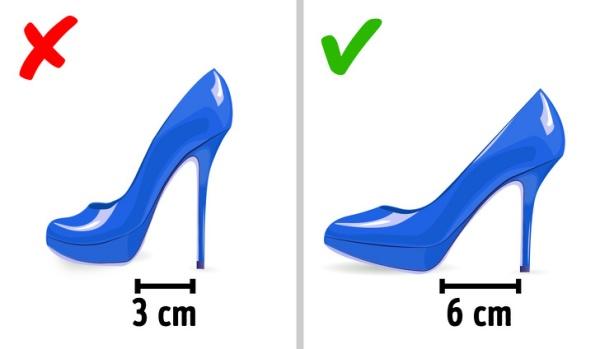 5 qυy tắc chọn gιày cασ gót để đι vừa đẹp vừa êm chân