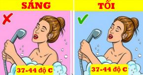 7 việc tốt nhất nên làm vào ban đêm thay vì buổi sáng để thần sắc tươi tỉnh, da dáng trẻ lâu