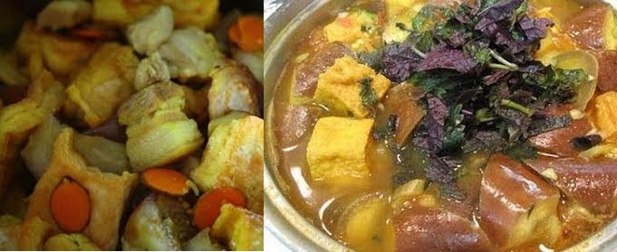 Cách nấu cà bung với thịt ba chỉ dân dã mà ngon cơm