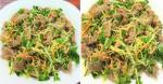 Cách làm gỏi xoài xanh bắp bò giòn giòn chua chua cực hấp dẫn