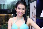 Hoa hậu Thùy Lâm bất ngờ mặc váy sexy khoe ngực táo bạo