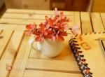 Hoa cúc xinh bằng vỏ hạt hướng dương mừng lễ 20.10